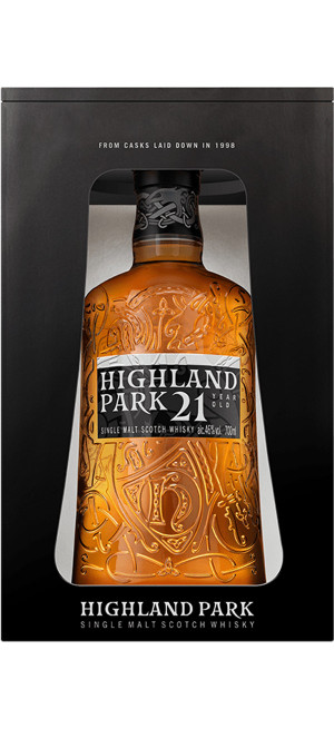 "Виски ""Highland Park"" 21 Years Old, gift box, 0.7 л"