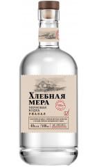 """Водка """"Хлебная Мера"""" Ржаная, 0.5 л"""