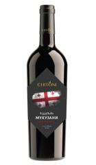 """Вино Chitoni """"Mukuzani"""", 0.75 л"""