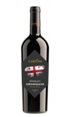 """Вино Chitoni """"Tsinandali"""", 0.75 л"""