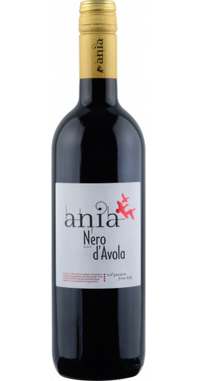 """Вино """"Ania"""" Nero d'Avola, Sicilia IGT, 0.75 л"""