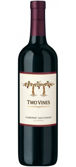 "Вино ""Two Vines"" Cabernet Sauvignon, 2017, 0.75 л"