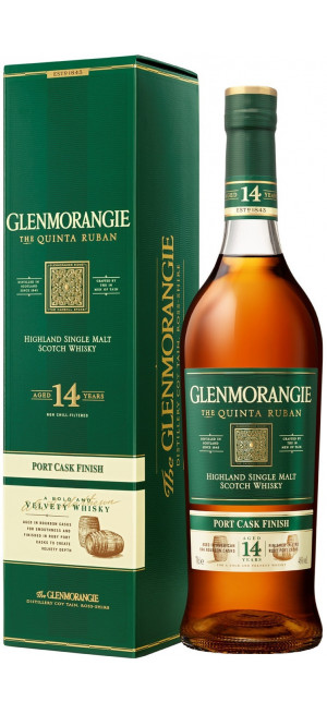 "Виски Glenmorangie ""The Quinta Ruban"" 14 Years Old, gift box, 0.7 л"