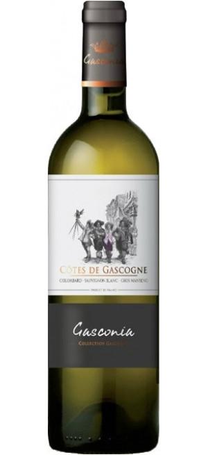 """Вино Borie-Manoux, """"Gasconia"""" Colombard-Sauvignon Blanc-Gros Manseng, Cotes de Gascogne IGP, 0.75 л"""