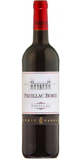 "Вино ""Pauillac Borie. Pauillac"" 2013, 0.75 л"