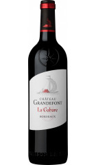 """Вино Chateau Grandefont, """"La Gabare"""", Bordeaux AOC, 0.75 л"""
