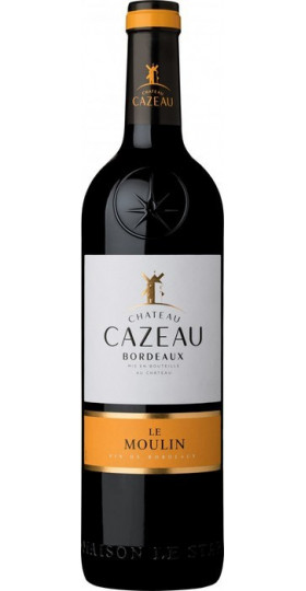 Вино Chateau Cazeau Le Moulin Bordeaux, 0.75 л