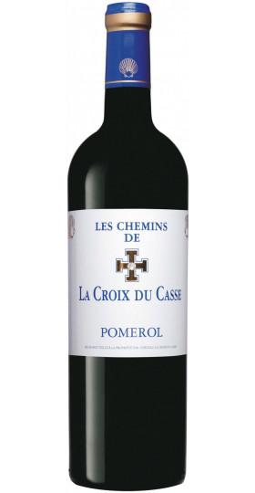 """Вино """"Les Chemins de La Croix du Casse"""" Pomerol AOC, 2011, 0.75 л"""