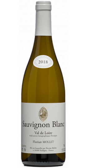 Вино Florian Mollet, Sauvignon Blanc, Val de Loire, 0.75 л