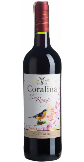 """Вино """"Coralina"""" Rouge Sec, 0.75 л"""