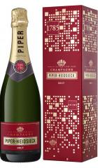 "Шампанское Piper-Heidsieck, Brut, gift box ""Off-Trade"", 0.75 л"