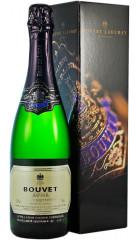 """Игристое вино Bouvet Ladubay, """"Saphir"""" Brut Vintage, Saumur AOC, 2017, gift box, 0.75 л"""