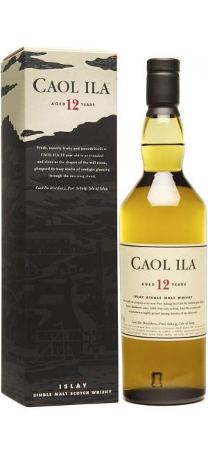 """Виски """"Caol Ila"""" malt 12 years old, with box, 0.75 л"""
