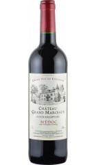 """Вино """"Chateau Grand Marceaux"""" Cuvee Exception, Medoc AOC, 0.75 л"""