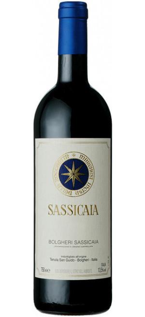 """Вино """"Sassicaia"""", Bolgheri Sassicaia DOC, 2018, 0.75 л"""