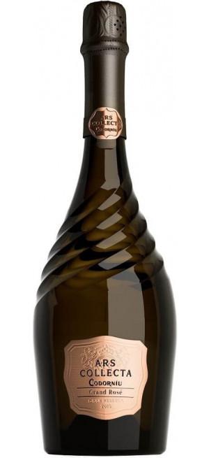 "Игристое вино ""Ars Collecta"" Grand Rose Gran Reserva, Cava DO, 2015, 0.75 л"