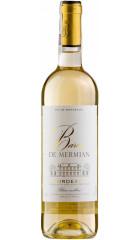 """Вино """"Baron de Mermian"""" Blanc Moelleux, Bordeaux AOC, 0.75 л"""