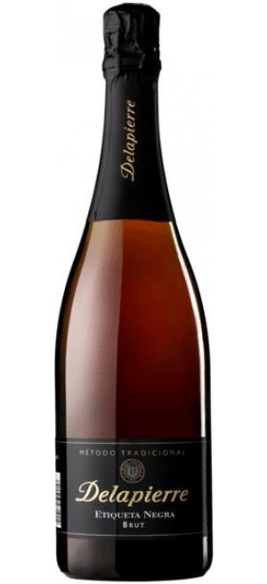 "Игристое вино ""Delapierre"" Etiqueta Negra Brut, 0.75 л"