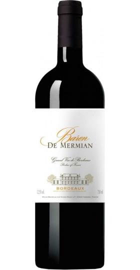 "Вино ""Baron de Mermian"" Rouge, Bordeaux AOC, 0.75 л"