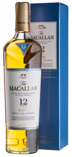 "Виски Macallan, ""Triple Cask Matured"" 12 Years Old, gift box, 0.7 л"