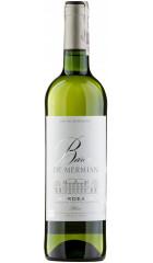 """Вино """"Baron de Mermian"""" Blanc, Bordeaux AOC, 0.75 л"""