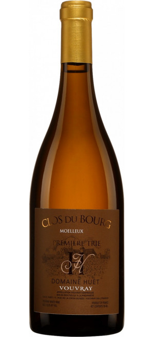 """Вино Domaine Huet, """"Clos du Bourg"""" Premiere Trie, Vouvray AOC, 2015, 0.75 л"""