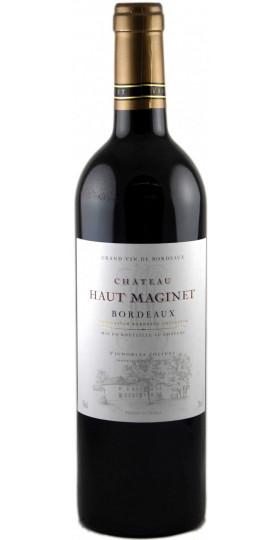 """Вино """"Chateau Haut Maginet"""" Rouge, Bordeaux AOC, 2018, 0.75 л"""