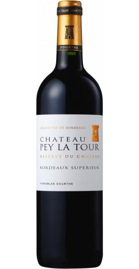 """Вино Chateau Pey La Tour """"Reserve du Chateau"""", Bordeaux Superieur, 2017, 0.75 л"""