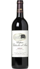 Вино Chateau Patache d'Aux, Medoc AOC, 2015, 0.75 л
