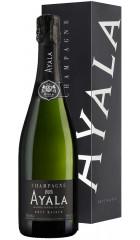 """Шампанское Ayala, Brut """"Majeur"""" AOC, gift box, 0.75 л"""