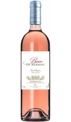 "Вино ""Baron de Mermian"" Rose, Bordeaux AOC, 0.75 л"