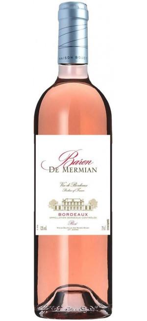 "Вино ""Baron de Mermian"" Rose, Bordeaux AOC, 0.75 л"