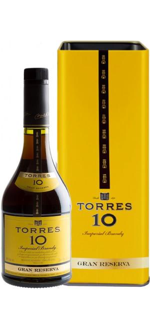 "Бренди ""Torres 10"" Gran Reserva, gift box, 0.7 л"