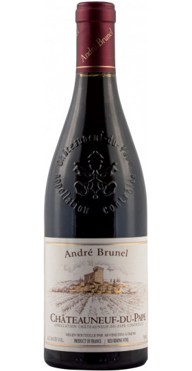 Вино Andre Brunel, Chateauneuf-du-Pape AOC, 2016, 0.75 л