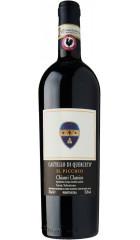 """Вино Castello di Querceto, """"Il Picchio"""", Chianti Classico DOCG Gran Selezione, 2016, 0.75 л"""