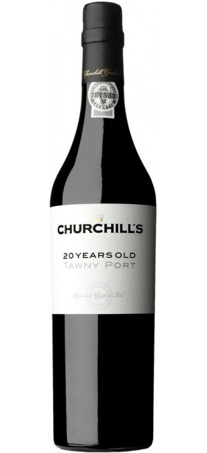 Портвейн Churchill's, Tawny Port 20 Years Old, gift box, 0.5 л