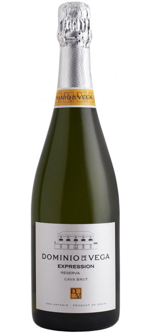"Игристое вино Dominio de la Vega, ""Expression"" Brut Reserva, Cava DO, 0.75 л"