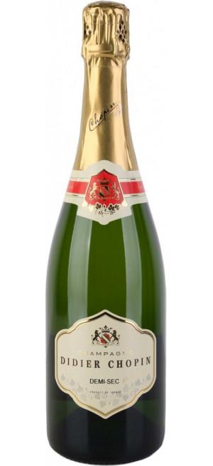 Шампанское Didier Chopin, Demi-Sec, Champagne AOC, 0.75 л
