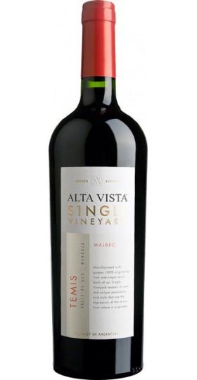 "Вино Alta Vista, Single Vineyard ""Temis"" Malbec, 2015, 0.75 л"