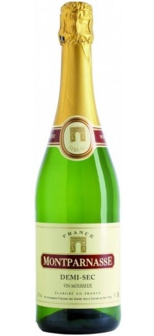 """Игристое вино """"Montparnasse"""" Demi-Sec, 0.75 л"""