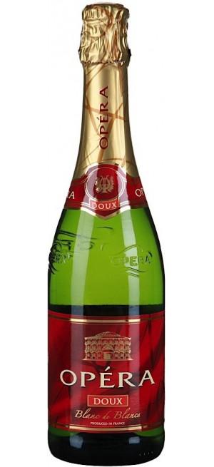 """Игристое вино """"Opera"""" Blanc de Blancs Doux, 0.75 л"""