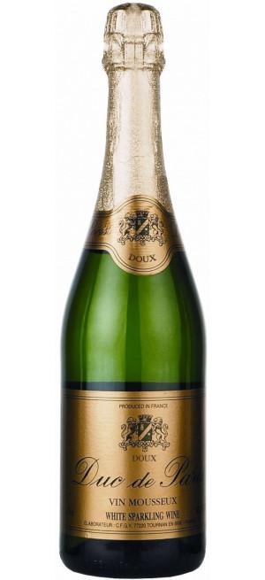 """Игристое вино """"Duc de Paris"""" Doux, 0.75 л"""