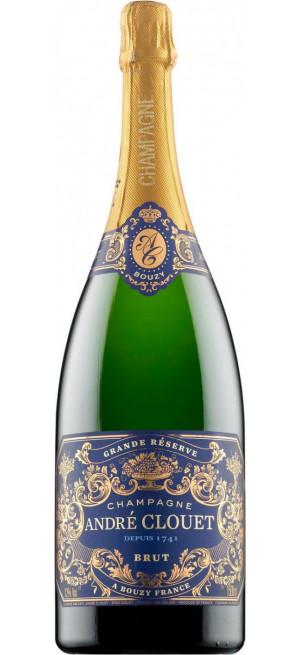 "Шампанское Andre Clouet, ""Grande Reserve"" Brut, Champagne AOC, 1.5 л"