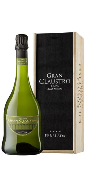 "Игристое вино Castillo Perelada, ""Gran Claustro"" Brut Nature, gift box, 0.75 л"