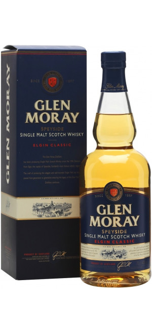 "Виски ""Glen Moray"" Elgin Classic, gift box, 0.7 л"