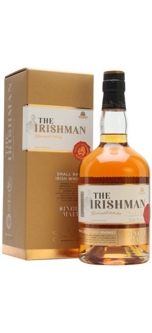 "Виски ""The Irishman"" Single Malt, gift box, 0.7 л"