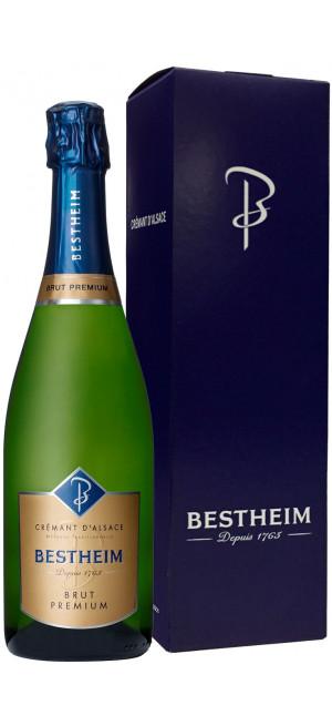 Игристое вино Bestheim, Cremant d'Alsace Brut AOC, gift box, 0.75 л