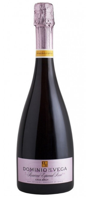 Игристое вино Dominio de la Vega Cava Brut Reserva Especial Rose, 0.75 л