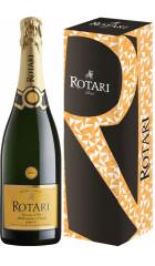 Игристое вино Rotari, Riserva Brut, Trento DOC, gift box, 2015, 0.75 л