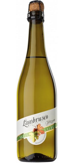 """Игристое вино """"Valle Calda"""" Bianco Amabile, Lambrusco IGT, 0.75 л"""